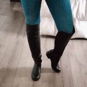 Blondo over the knee Black Riding Boots